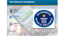 LG Optimus 2X scoops up Guinness World Record for being first dual-core smartphone