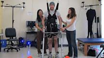 For the first time, a paraplegic has walked without a robotic suit