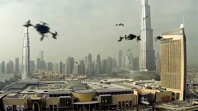 Dubai hosts the first World Drone Prix on March 11th
