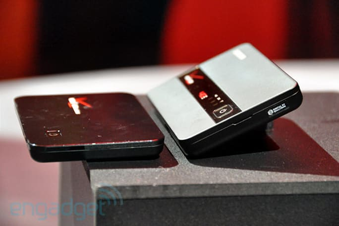 Verizon's 4G LTE line: Samsung and Novatel MiFi, 4G Galaxy Tab, netbooks (hands-on)