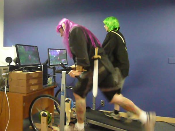 Nerds race across Azeroth IRL, nearly die from shame