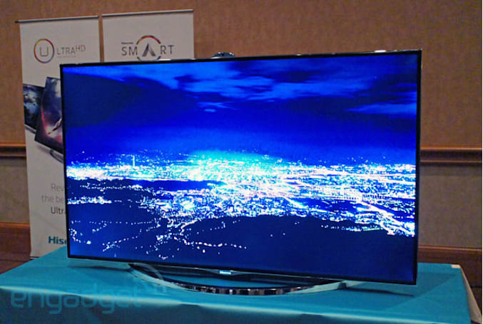 Hisense's 65-inch XT900 Ultra High Definition TV eyes-on