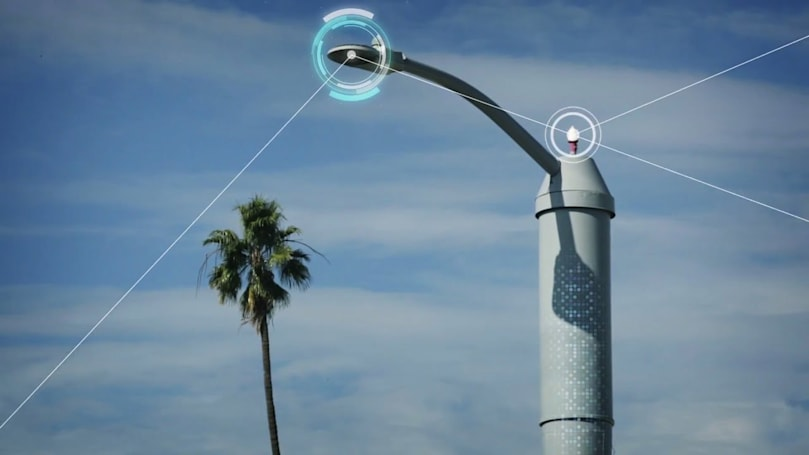 AT&T's smart streetlights can smooth traffic, detect gunshots