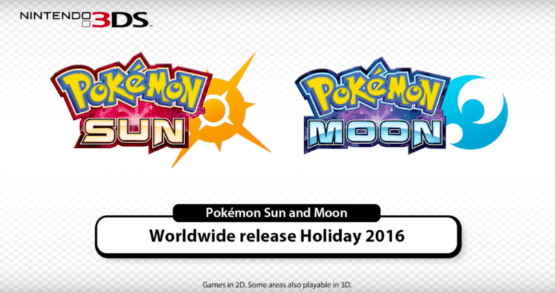 'Pokémon Sun' and 'Moon' hit the Nintendo 3DS this holiday