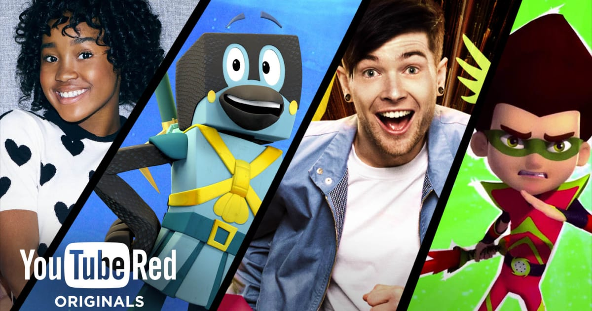YouTube Creates Four Original Shows Just for its Kids App