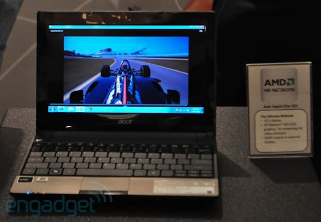 AMD netbooks: Acer Aspire One 521 and Gateway LT22 hands-on