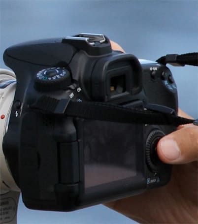 Is this Canon's 60D DSLR, articulating display and all?