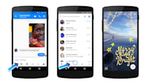 Facebook Messenger gets a new camera with special effects