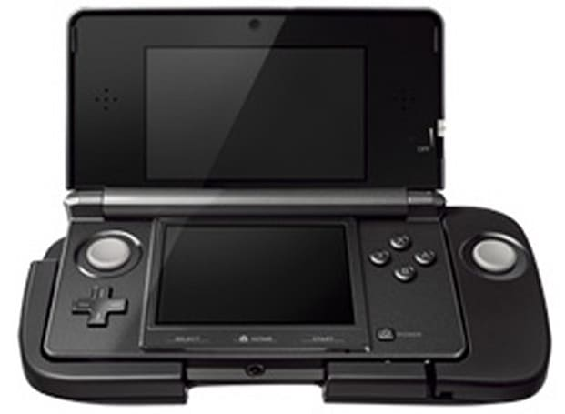 Nintendo 3DS circle pad attachment coming to Japan on Dec. 10