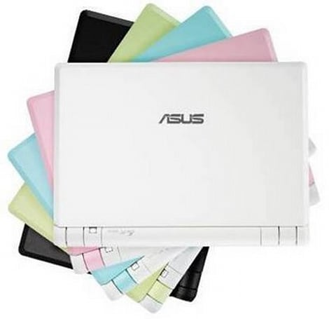 Asus Eee PC 2G Surf: now with color
