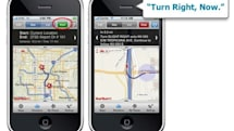 MapQuest iPhone gets free voice navigation; TomTom lifetime map and traffic PNDs now available (update: Navigon MobileNavigator 1.5 too)