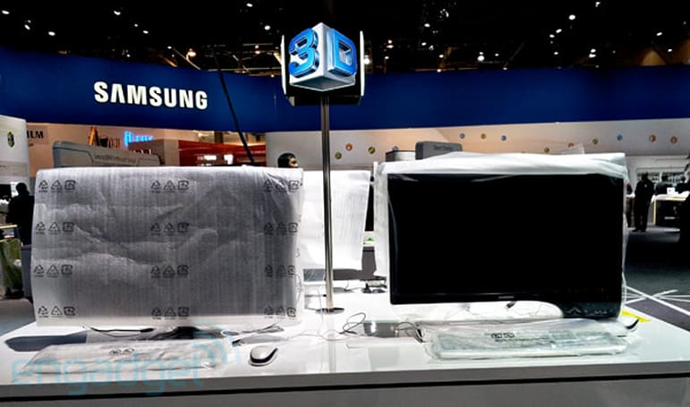 Samsung Series 7 / Series 9 displays spotted early at CES
