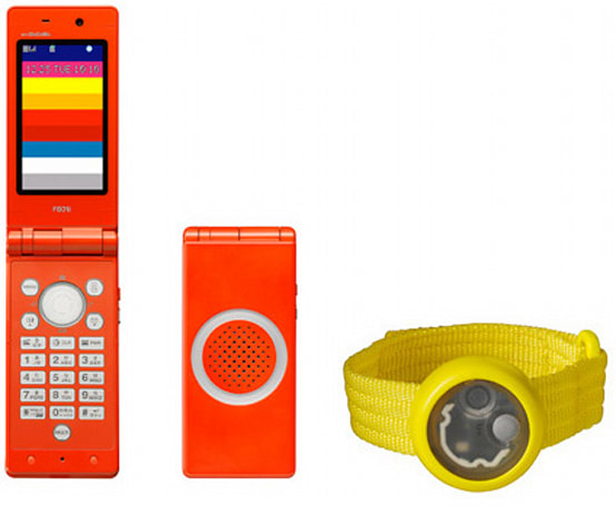 NTT DoCoMo creates kid-friendly handset and bracelet combo