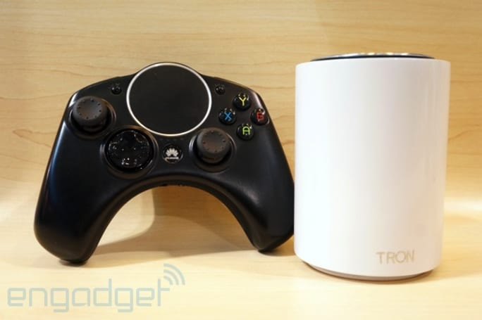 Huawei hops on the Android gaming bandwagon with Tron mini-console