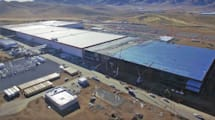 So sieht Teslas Akkufabrik im Dezember aus