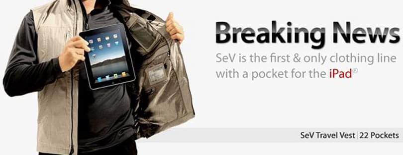 Scottevest debuts 'iPad compatible' clothing line, the world cringes (update: available now!)