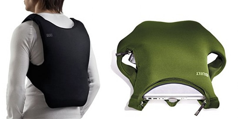 BUILT's Laptop Backpack keeps your files close, peripherals closer