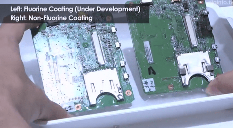 New water-resistant coating protects your phone, the planet (video)