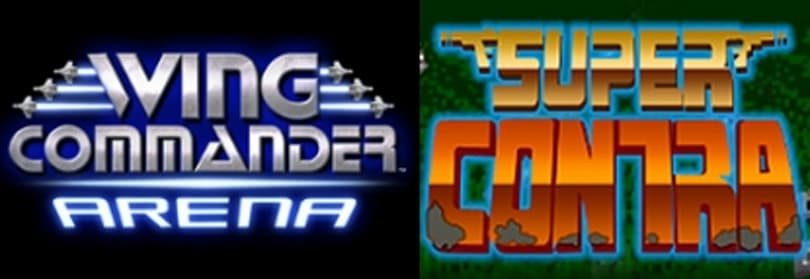 WCA and Super Contra available on XBLA