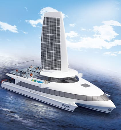 Solar-powered ferry could be headed to San Francisco