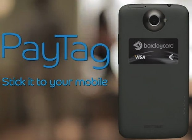 Barclays releases PayTag: the NFC card you glue to your phone (video)