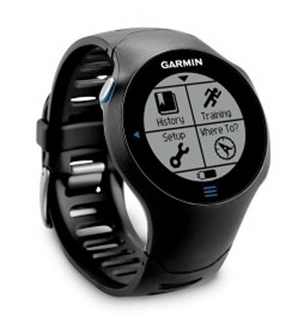 Garmin intros the Forerunner 610, its first touchscreen GPS watch for runners (video)