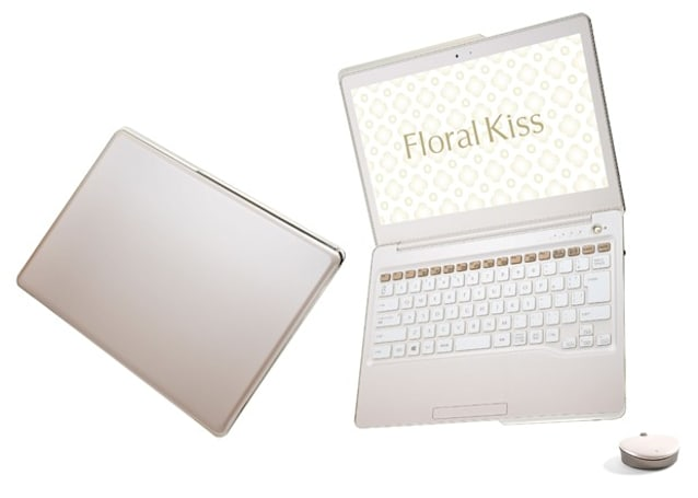 What women want: Fujitsu's Floral Kiss Ultrabook with pre-installed horoscope app