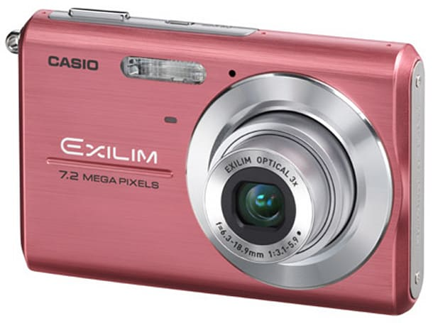 Casio's EX-Z75 Breast Cancer Awareness Month special edition