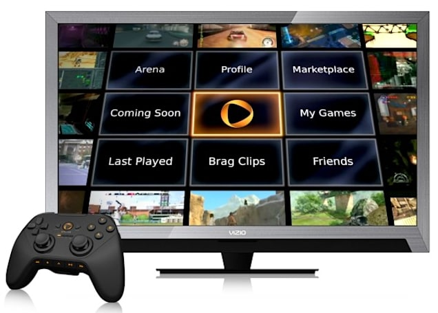 OnLive turns into Vizio VIA Plus app, destined for TVs, tablets and phones