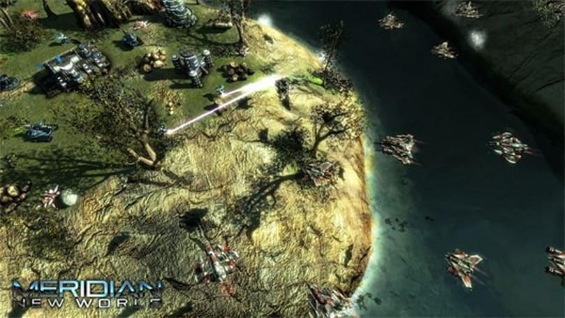 Meridian: New World is a sci-fi RTS ripped from one guy's brain