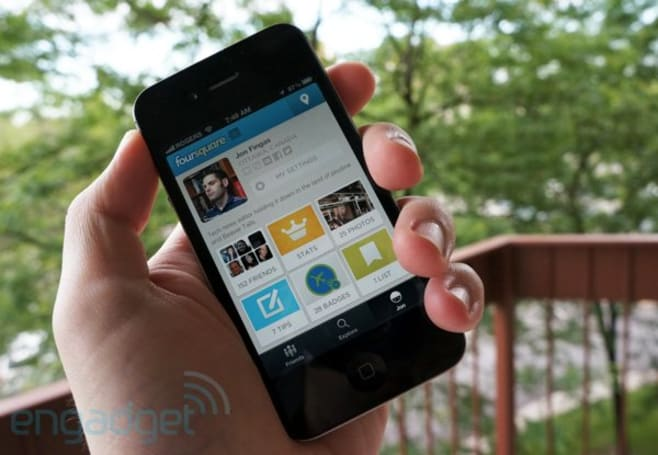 Foursquare check-ins could have small NYC merchants checking you out with promoted listings