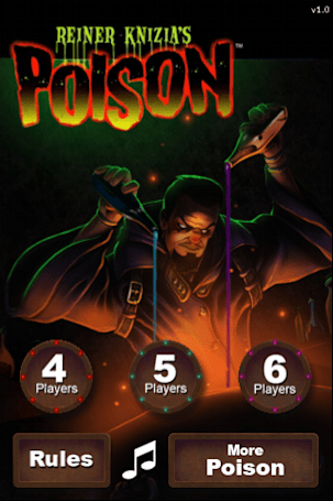 Review: Reiner Knizia's Poison a fun way to kill (a few minutes)