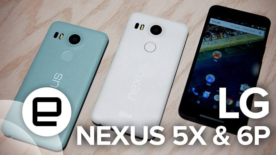 LG Nexus 5X and Nexus 6P: Hands-On