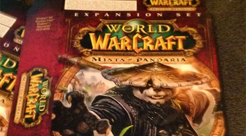 Rumor: Mists of Pandaria box revealed