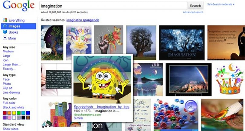 Google Images get spruced up, don't need no stinkin' text