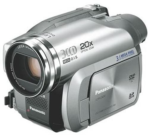 Panasonic's latest 3CCD DVD camcorder gets 20x optical zoom