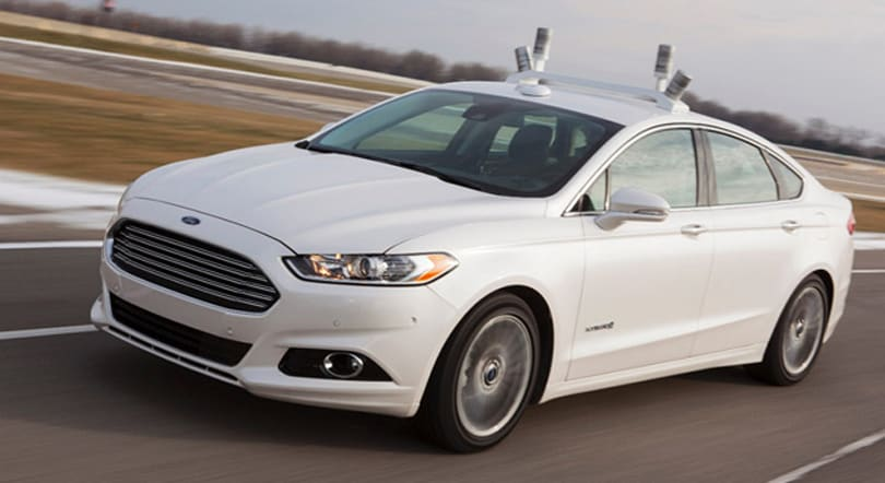Ford's Fusion Hybrid research car will explore our driverless future