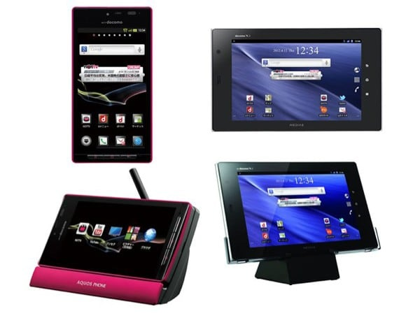 Aquos SH-06D and Medias Tab N-06D are waterproof, Nottv-ready and official in Japan