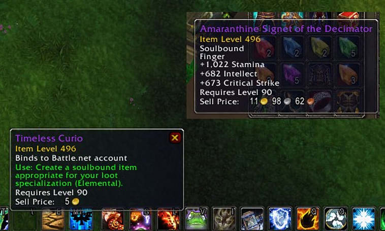 Patch 5.4 PTR: Timeless BoAs give 496 gear to alts and offspecs