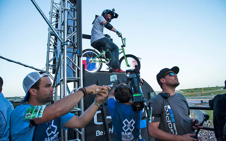 ESPN's X Games to use GoPro footage during live broadcasts