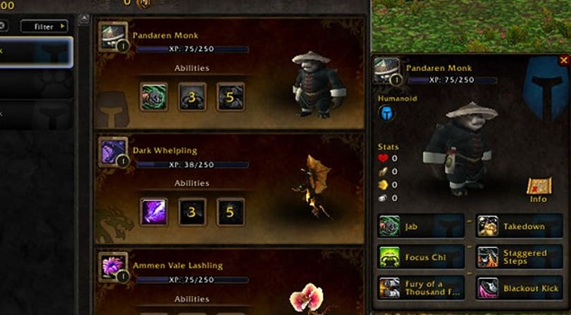 Video: Mists of Pandaria Pet Battles