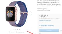 Einige Modelle der Apple Watch ausverkauft