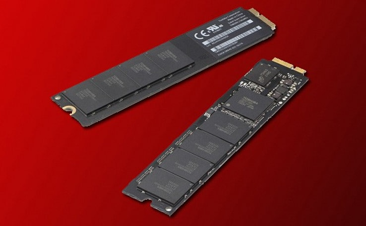 Some MacBook Airs sporting faster blade SSDs, probably from Samsung
