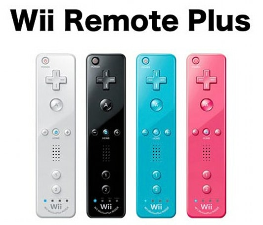 Nintendo announces Wii Remote Plus with built-in MotionPlus tracking