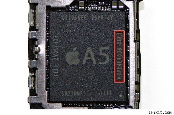 iPhone 4S has 512 MB RAM, iFixit and Anandtech verify