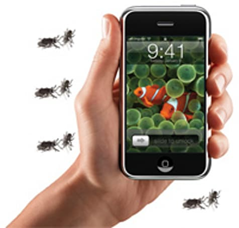 Comprehensive iPhone bug list debuts, 68 and counting