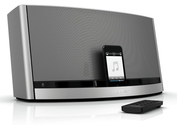 bose sounddock 10 weighs in with 599 of ipod amplification. Black Bedroom Furniture Sets. Home Design Ideas