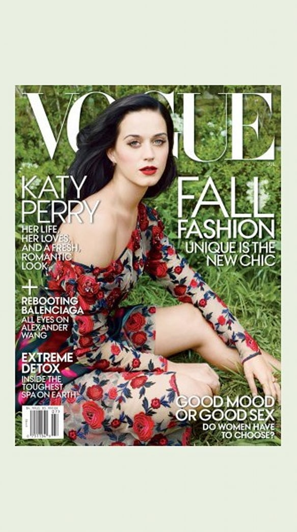 Katy Perry Stuns on First 'Vogue' Cover