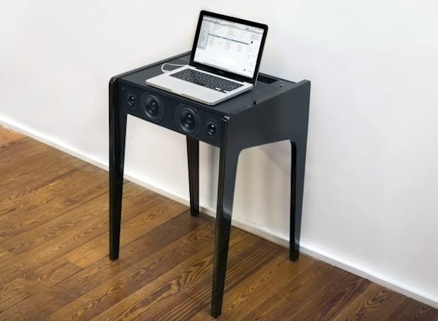 La Boite Concept LD120 is the hi-fi desk your laptop's been crying out for (video)