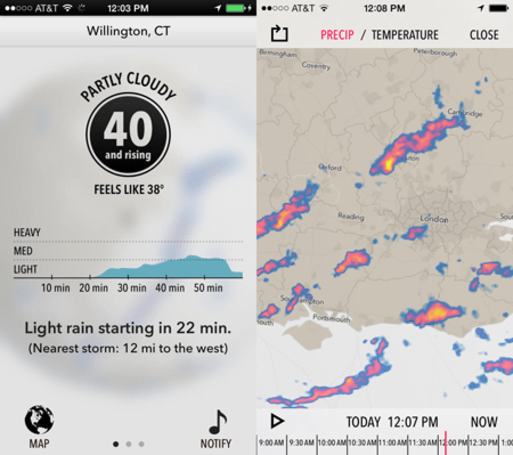 Dark Sky's iOS 7 update has it swinging with the big dogs